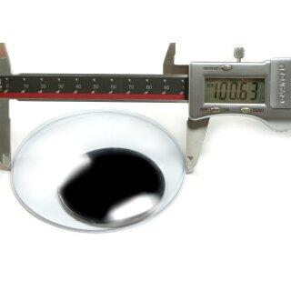 XL Wackelaugen 100mm Selbstklebend einzeln